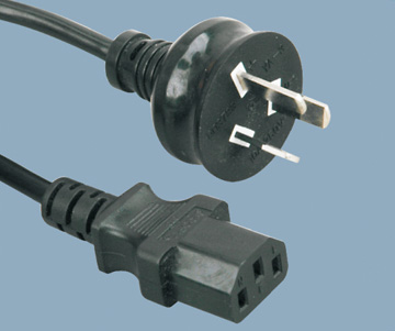 Australia SAA approval TO C13power cord