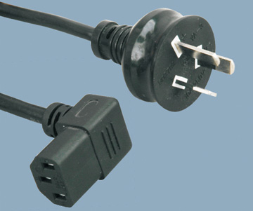 Australia SAA approval to c13 power cord